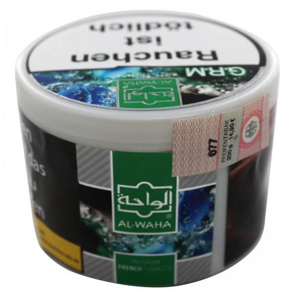 Al Waha Shisha Tabak 200g Grap Min / G.R.M.
