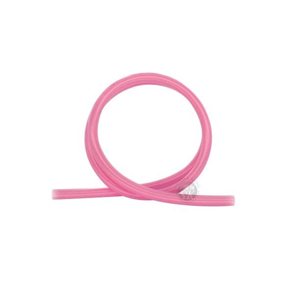 SK Glänzend Silikonschlauch-Pink Transparent