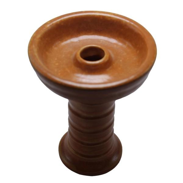 LaMar Lotus Bowl - Brown