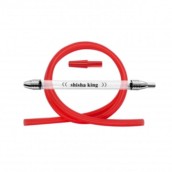 SK Boro & Silikonschlauch Set - Rot