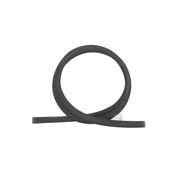 SKS Silikonschlauch matt - Black Transparent