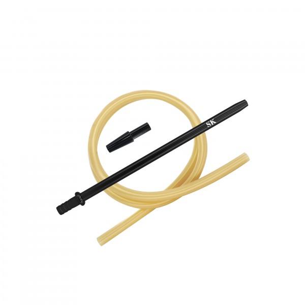 SK Silikonschlauch SET - Black/Gold