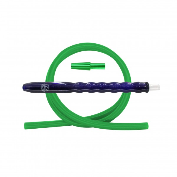 SK Bubble Fusion Blue & Silikonschlauch Set - Green