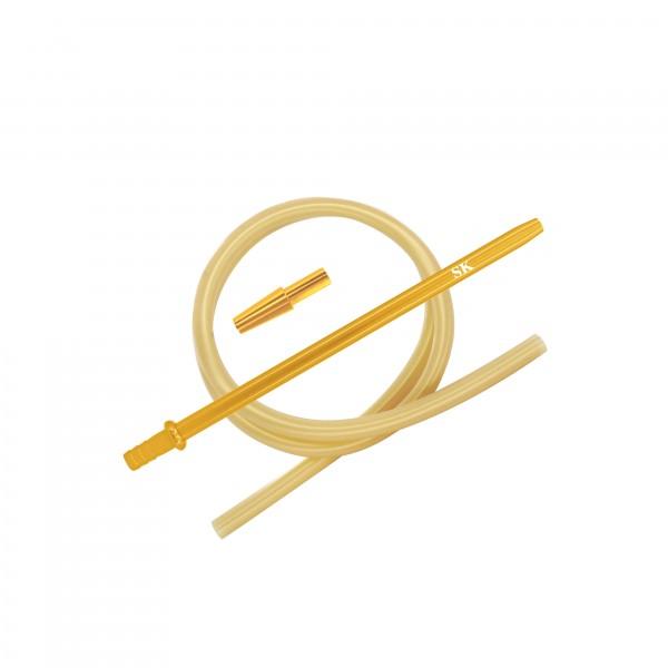 SKS Silikonschlauchset - Gold/Gold