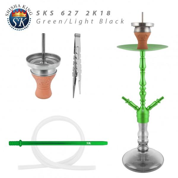SKS 627 2K18 - Green/light back -2-