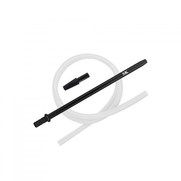 SK Silikonschlauch Set - Black/White