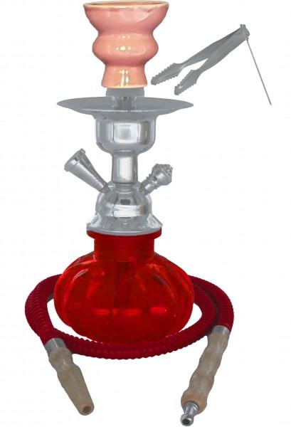 CuC Hookah 505 Shisha Wasserpfeife Red