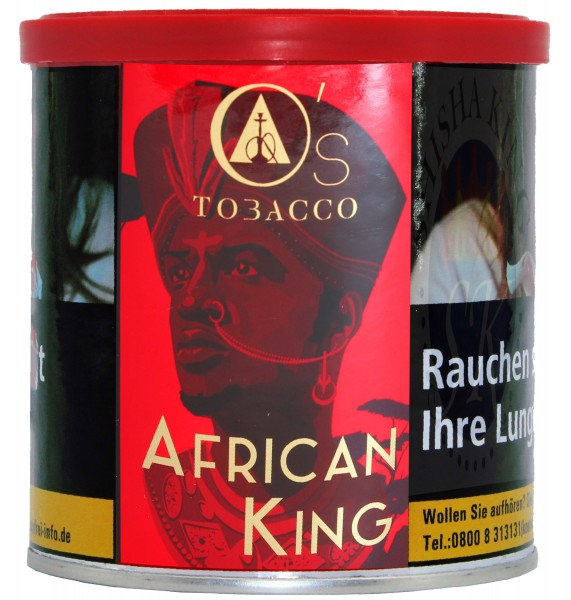 O´s Tobacco 200g - African King