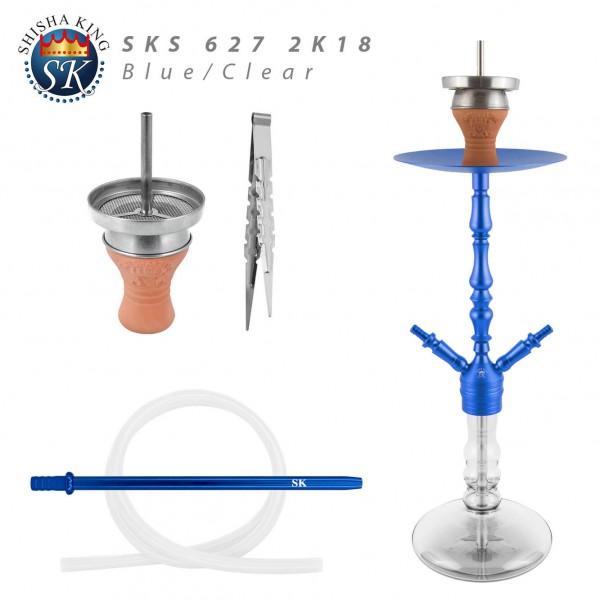 SKS 627 2K18 - Blue/Clear -2-