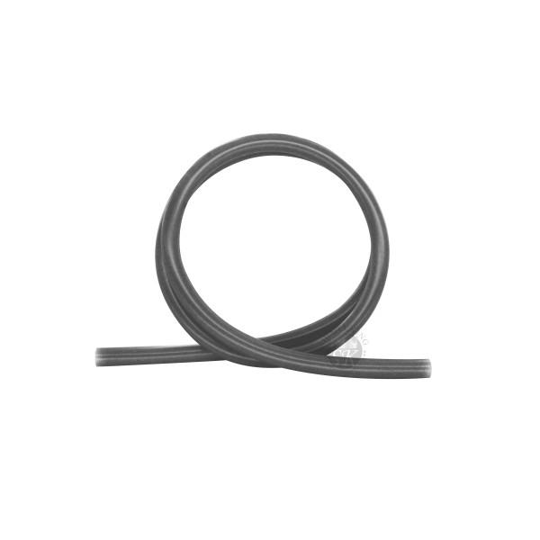 SK Glänzend Silikonschlauch-Black Transparent