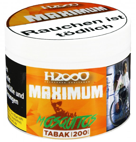 Hasso Maximum 200g - Mosquitos