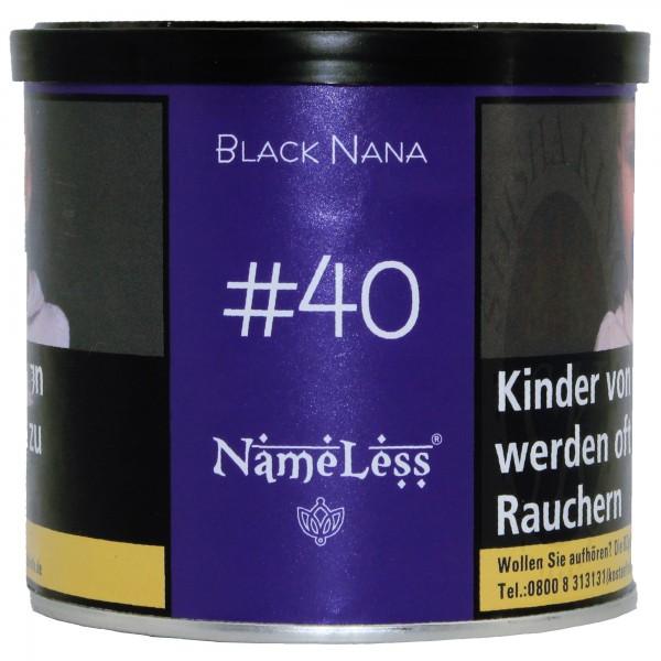 Name Less 200g - #40 Black Nana