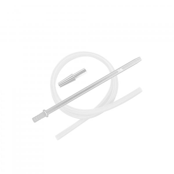 SKS Silikonschlauchset - Silver/Transparent