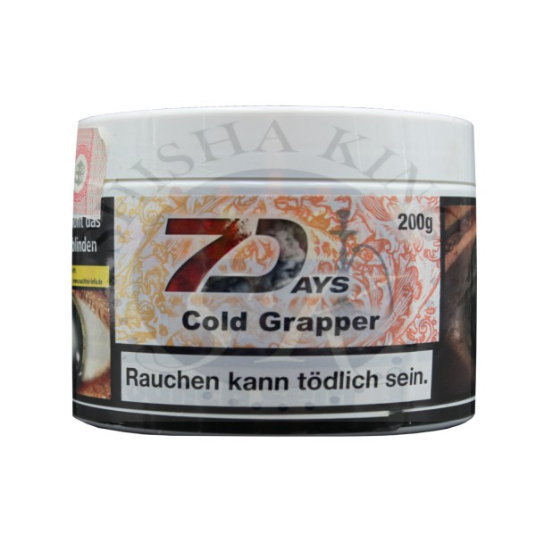 7Days - Cold Graper 200g