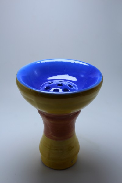 SK Ägypter Kopf-Blue Yellow Brown