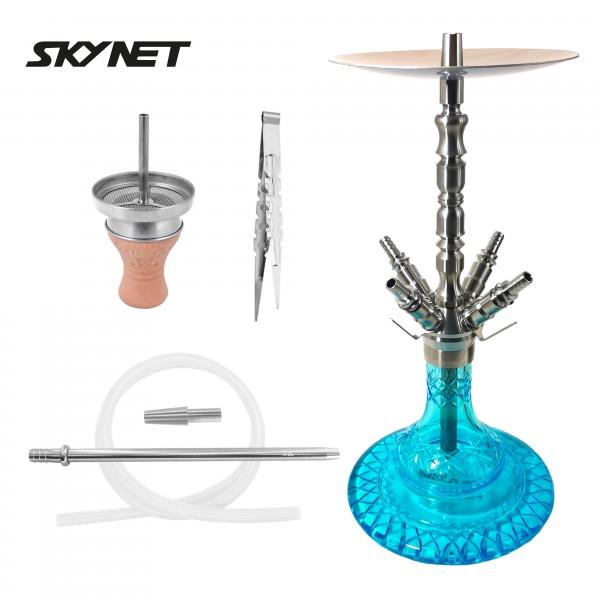 Skynet Galaxie S Shisha Wasserpfeife Set Turquoise