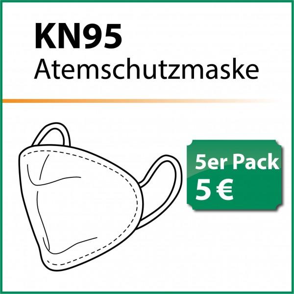 Atemschutzmaske 5er-Pack KN95