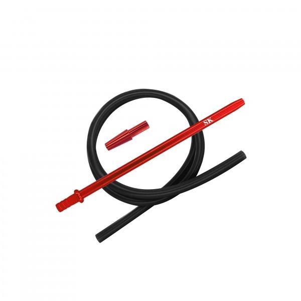 SK Silikonschlauch Set - Red/Black