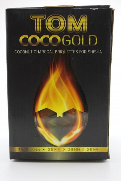 "Tom Cococha ""Gold"" Naturkohle 1kg"
