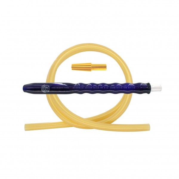 SK Bubble Fusion Blue & Silikonschlauch Set - Gold