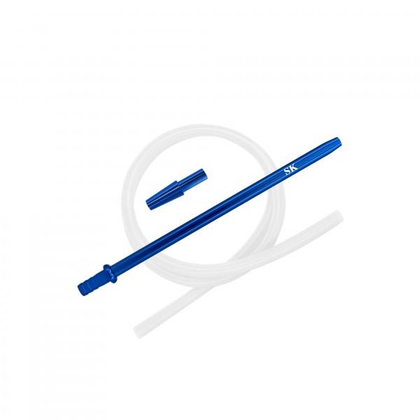SK Silikonschlauch SET - Blue/Transparent