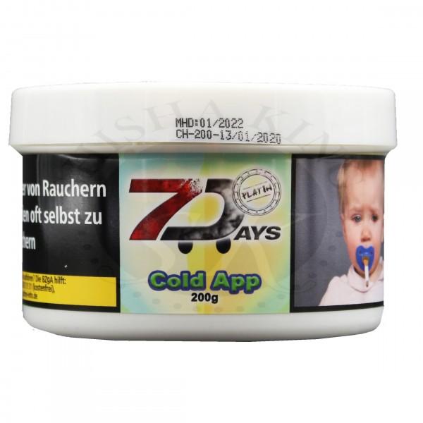 7 Days Platin 200g - Cold App