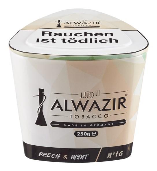 Al Wazir Tobacco -Peech & Mynt- 250g