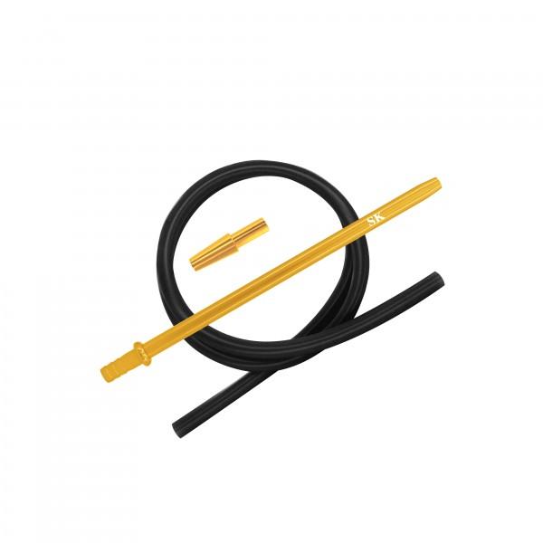 SK Silikonschlauch SET - Gold/Black