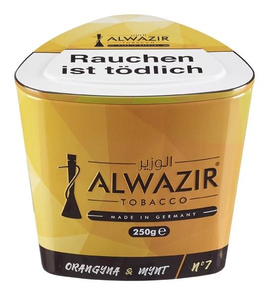 Al Wazir Tobacco 250g - Orangyna & Mynt No 7