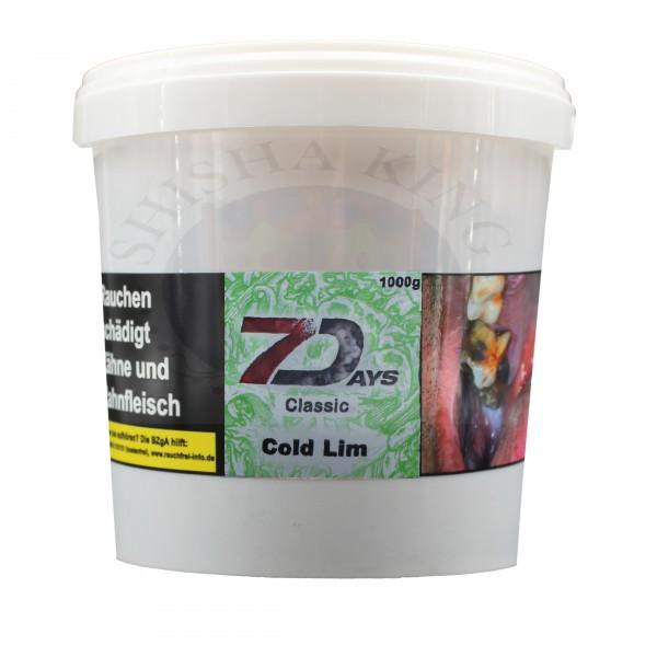 7 Days 1KG - Cold Lim