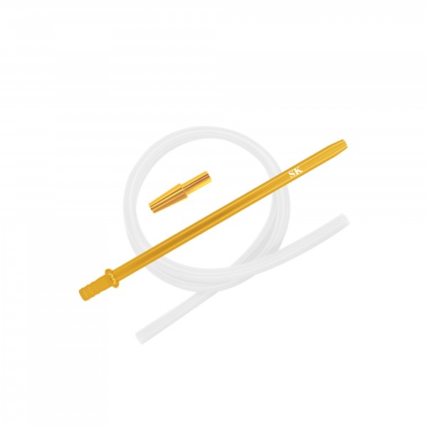 SK Silikonschlauch SET - Gold/Transparent