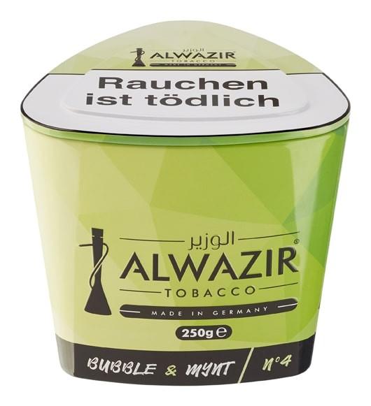 Al Wazir Tobacco 250g - Bubble & Mynt No 4
