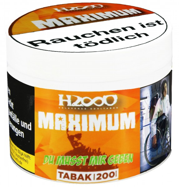 Hasso Maximum 200g - Du musst mir geben