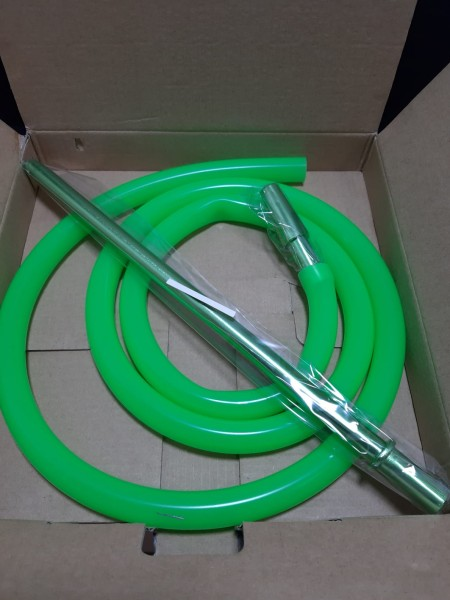 SK Silikonschlauch Set-Neon Green