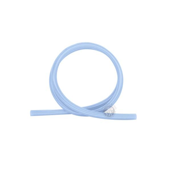 SK Glänzend Silikonschlauch-Blue Transparent
