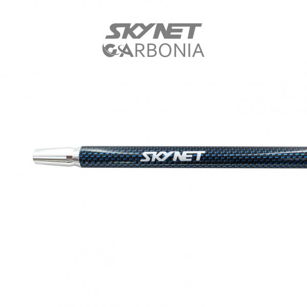 Skynet Carbonia Mundstück-Bright Blue Lines