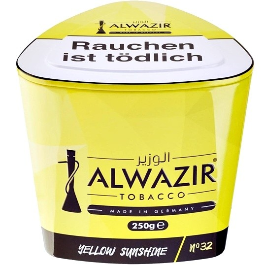ALWAZIR Shisha Tabak 250g Yellow Sunshine