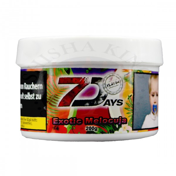 7 Days Platin-Exotic Melocuja 200g