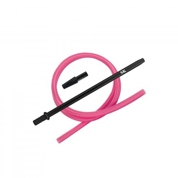 SK Silikonschlauch SET - Black/Pink