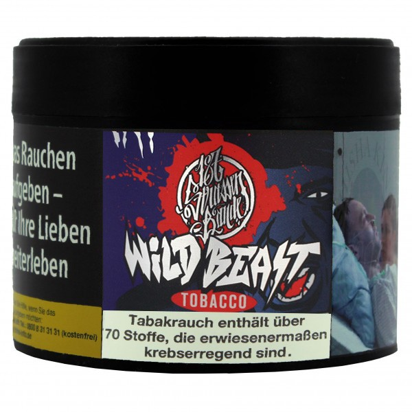 187 Tobacco 200g - #009 wild Beast