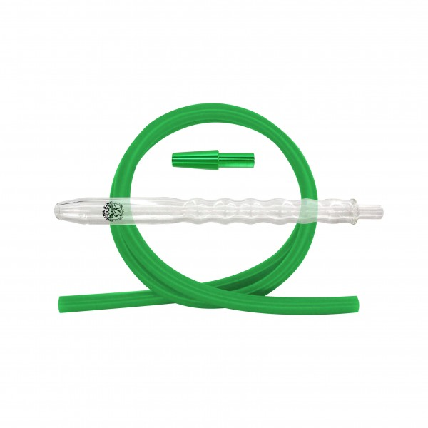 SKS Bubble Fusion Clear Schlauchset - Green