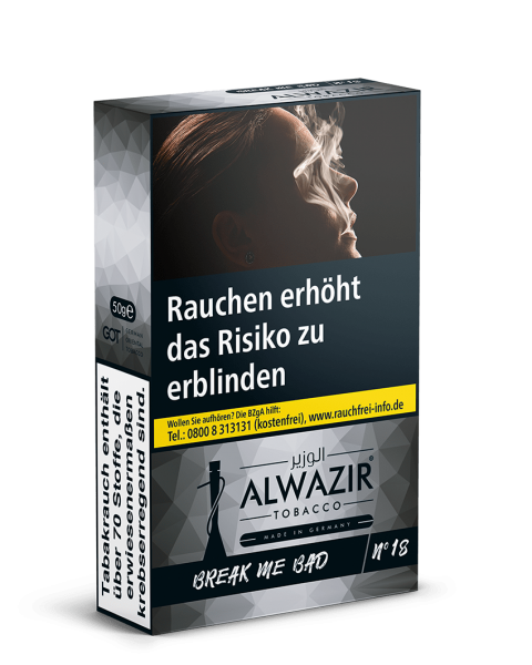 Al Wazir 50g-Break me Bad-No 18