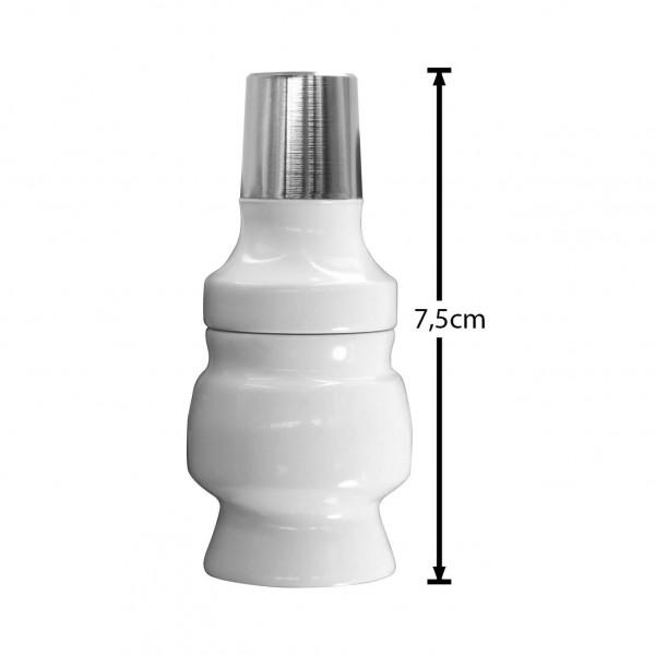 SK Molassefänger Adapter Zink - White