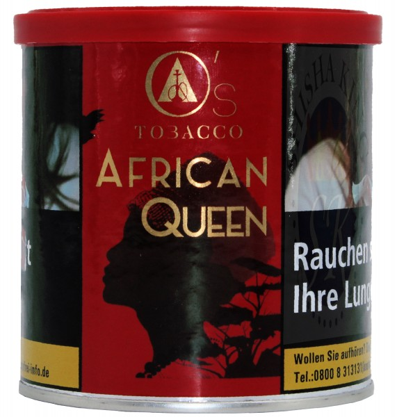 O´s Tobacco 200g - African Queen